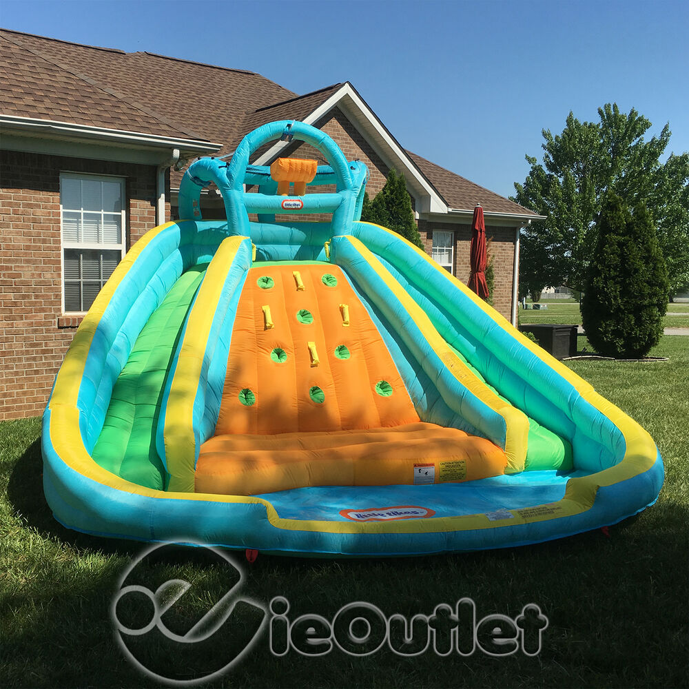 Inflatable Water Slide Toyworld: NEW LITTLE TIKES ROCKY MOUNTAIN RIVER RACE INFLATABLE