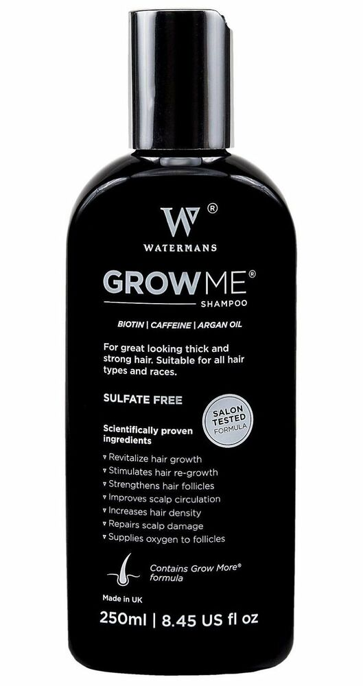 Best Treatment Growth Shampoo Grow Me Helps Stop Hair Loss Waterman