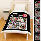 New [1D][One Direction] Niall Horan & Members Photo Collage Fleece Throw Blanket