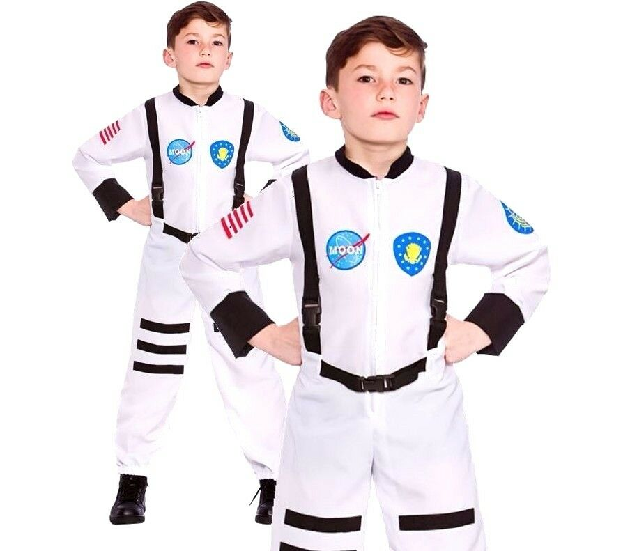 0f2409a95dd4 Main Description. Moon Mission Astronaut Costume. Includes  Astronaut Flight -Suit.