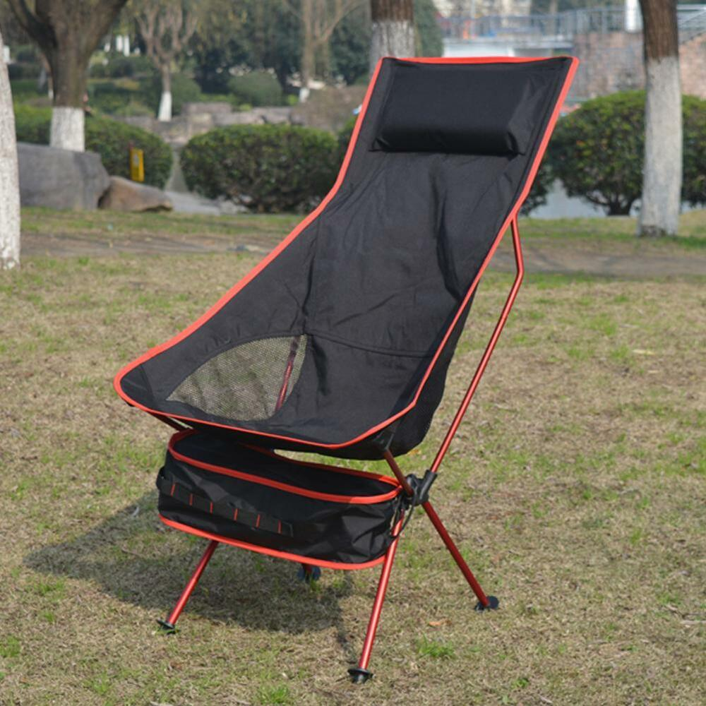 Long Moon Chairs Folding With Pillow Perfect For Leisure