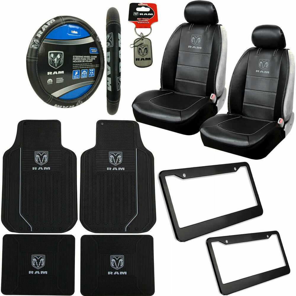 dodge ram seat covers with ram logo 2018 dodge reviews. Black Bedroom Furniture Sets. Home Design Ideas