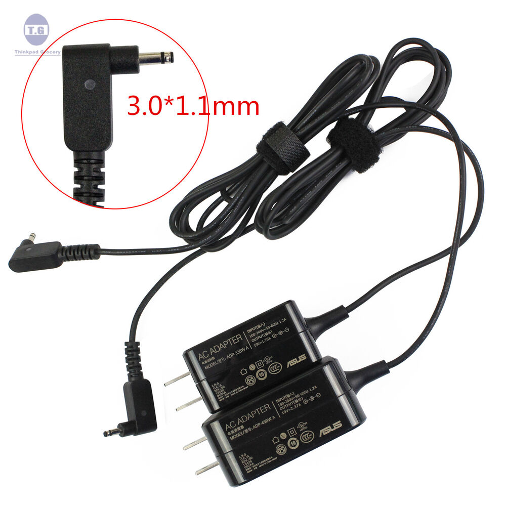 New asus zenbook ux21e ux21k ux31e ac adapter charger 19v 33w 45w ebay for Asus zenbook ux21e