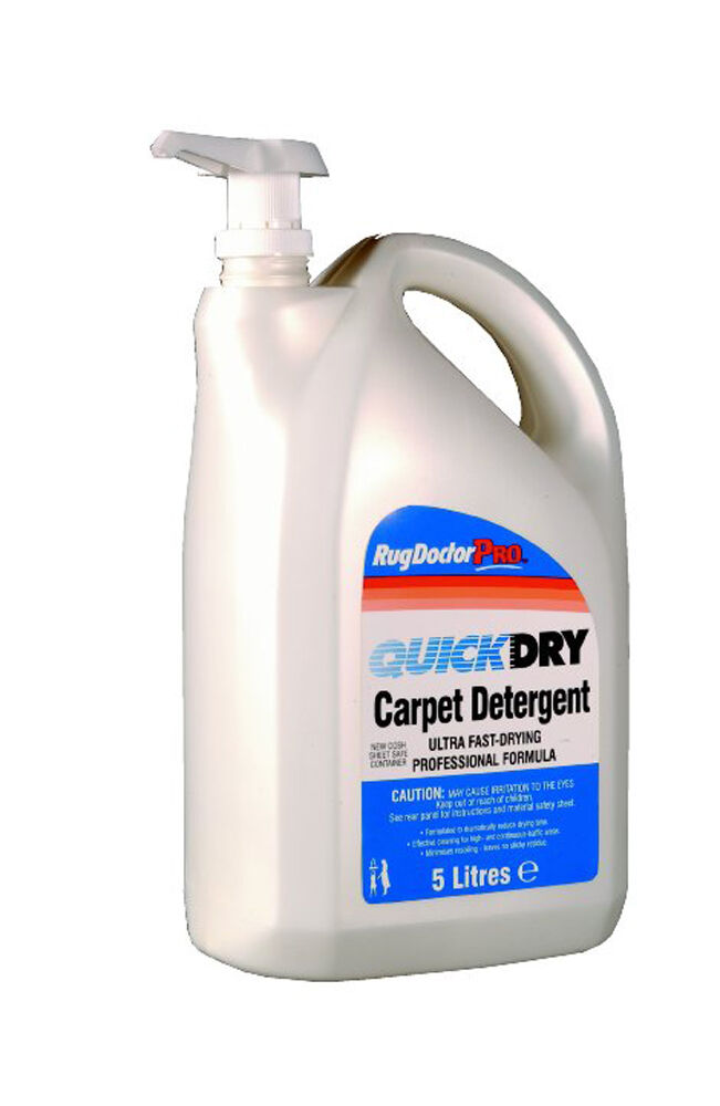 Rug Doctor Quick Dry Carpet Shampoo Detergent 5 Litres