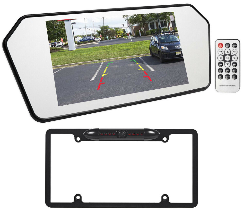 Jeep Wrangler 7 Quot Glass Rearview Mirror Monitor W