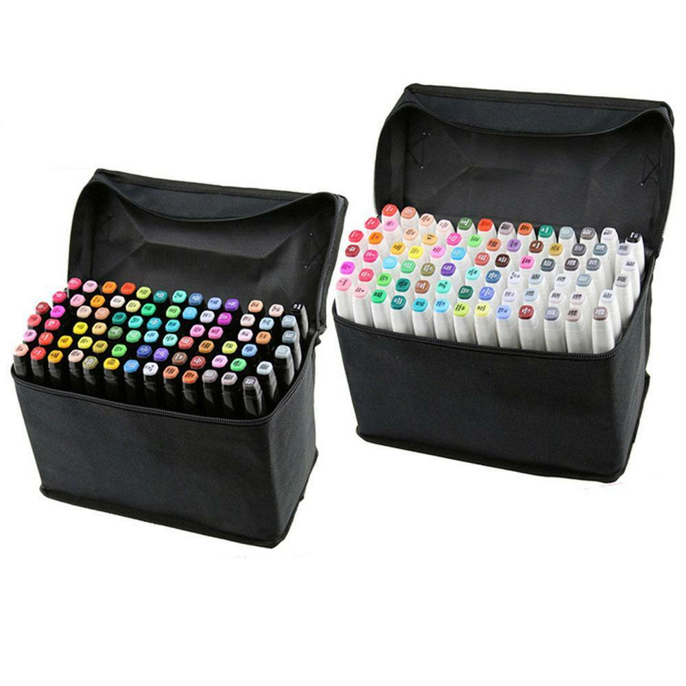 80 Pcs Double Sketch Markers Art Supply Drawing Painting