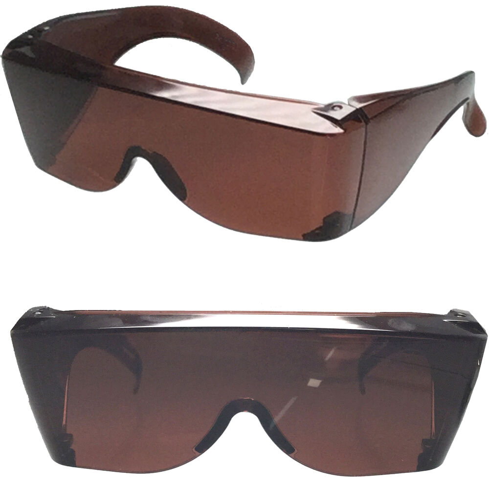 Blue Blocker Extra Large Fit Cover Over Rx Glasses