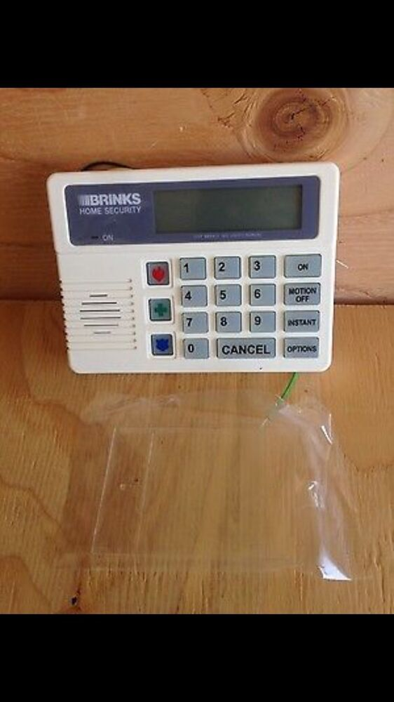 Brinks home security alarm lcd scantronic keypad bhs 2000 for Brinks home security