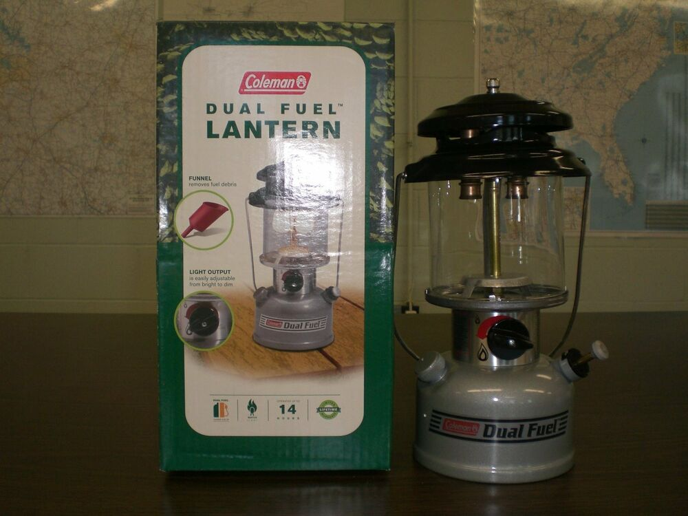 new coleman lantern dual fuel gasoline made in usa wichita kansas 285 700 ebay