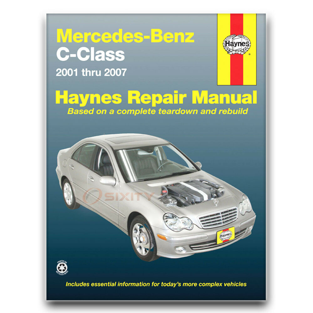 Mercedes c230 haynes repair manual sport kompressor shop for Mercedes benz online repair manual