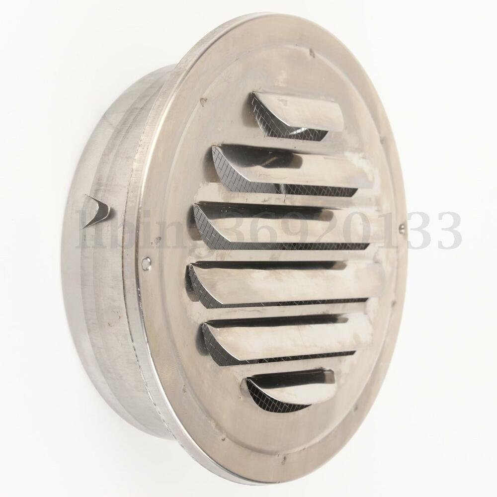 Quot stainless steel circle air vent grille round ducting