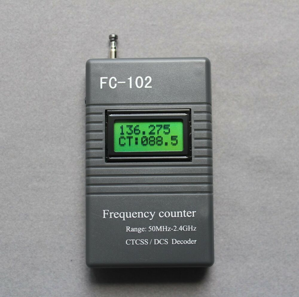 Ham Radio Frequency Counter : Fc frequency meter ctcss dcs scanner for ham radio