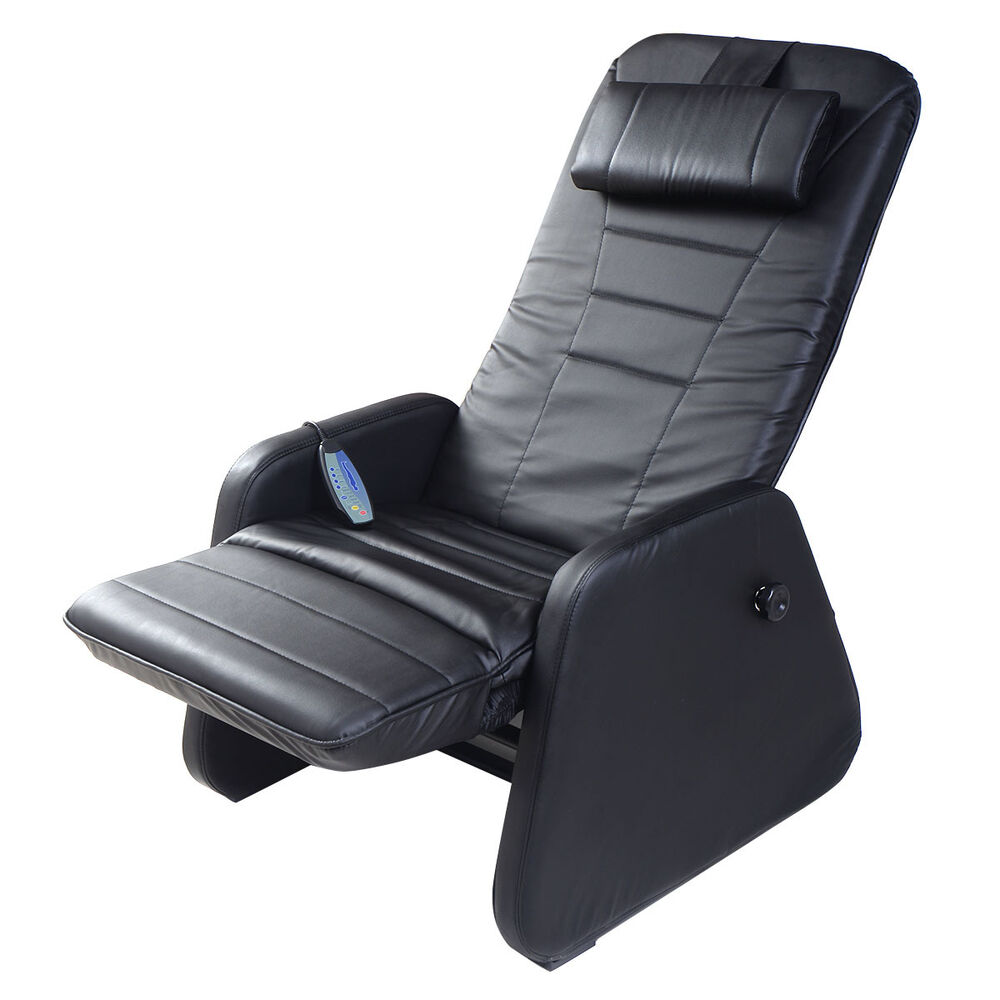 new zero gravity electric massage chair recliner pu leather w
