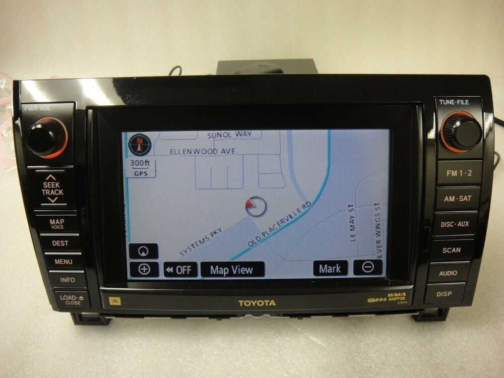 2007 2010 Toyota Tundra Sequoia Oem Gps Navigation System