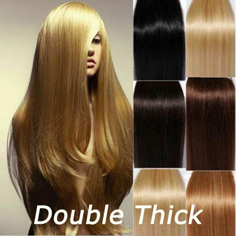 Extra Thick Remy Hair Extensions Remy Indian Hair