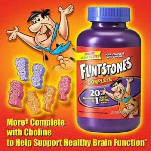 Flintstone Vitamins With Iron For Adults