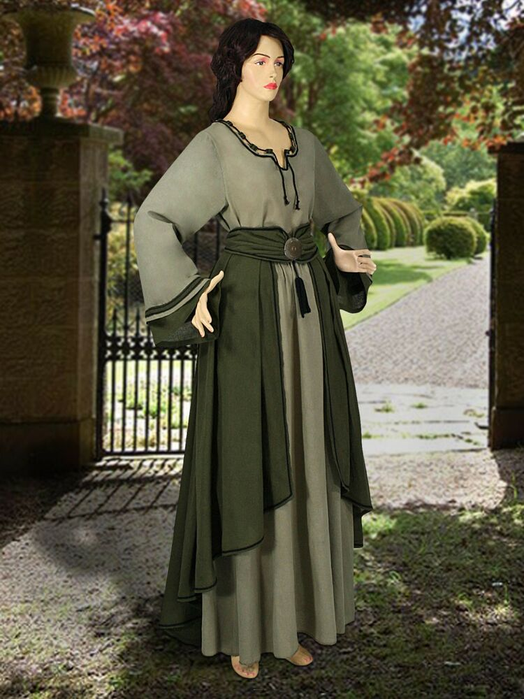 Medieval clothing for women history