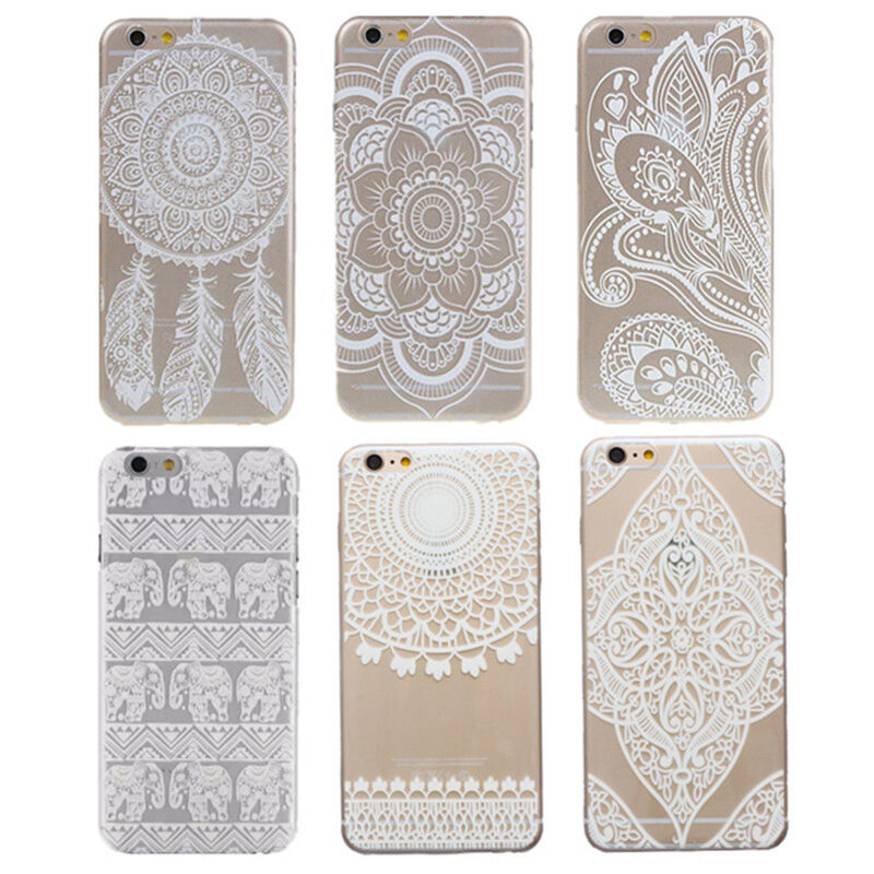 Mandala Ultra Thin Clear PC Hard Back Case Cover For Apple iPhone 7 7 ...