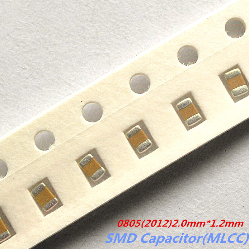 100pcs 0805 2012 Chip Capacitor 1pf 10uf Smd Ceramic