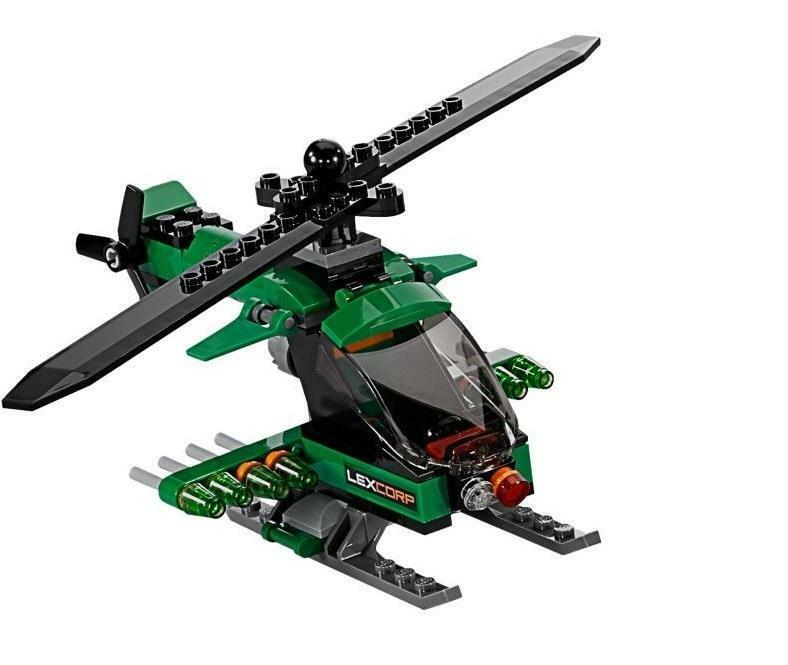 LEGO Super Heroes LexCorp Helicopter 76046 Sky High Battle ...