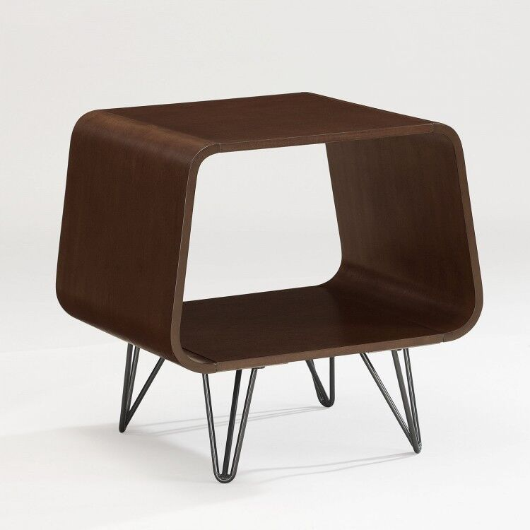 Designer Accent Tables: Modern End Table Mid Century Vintage 60's Style Accent