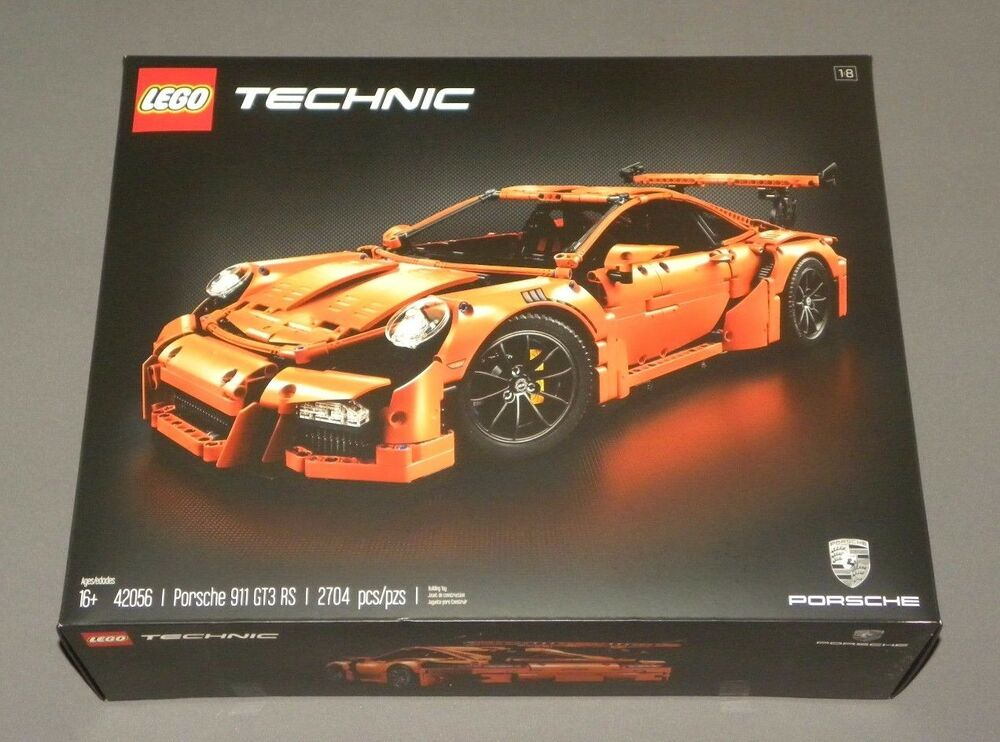 lego technic porsche 911 gt3 rs race car set 42056 1 8. Black Bedroom Furniture Sets. Home Design Ideas