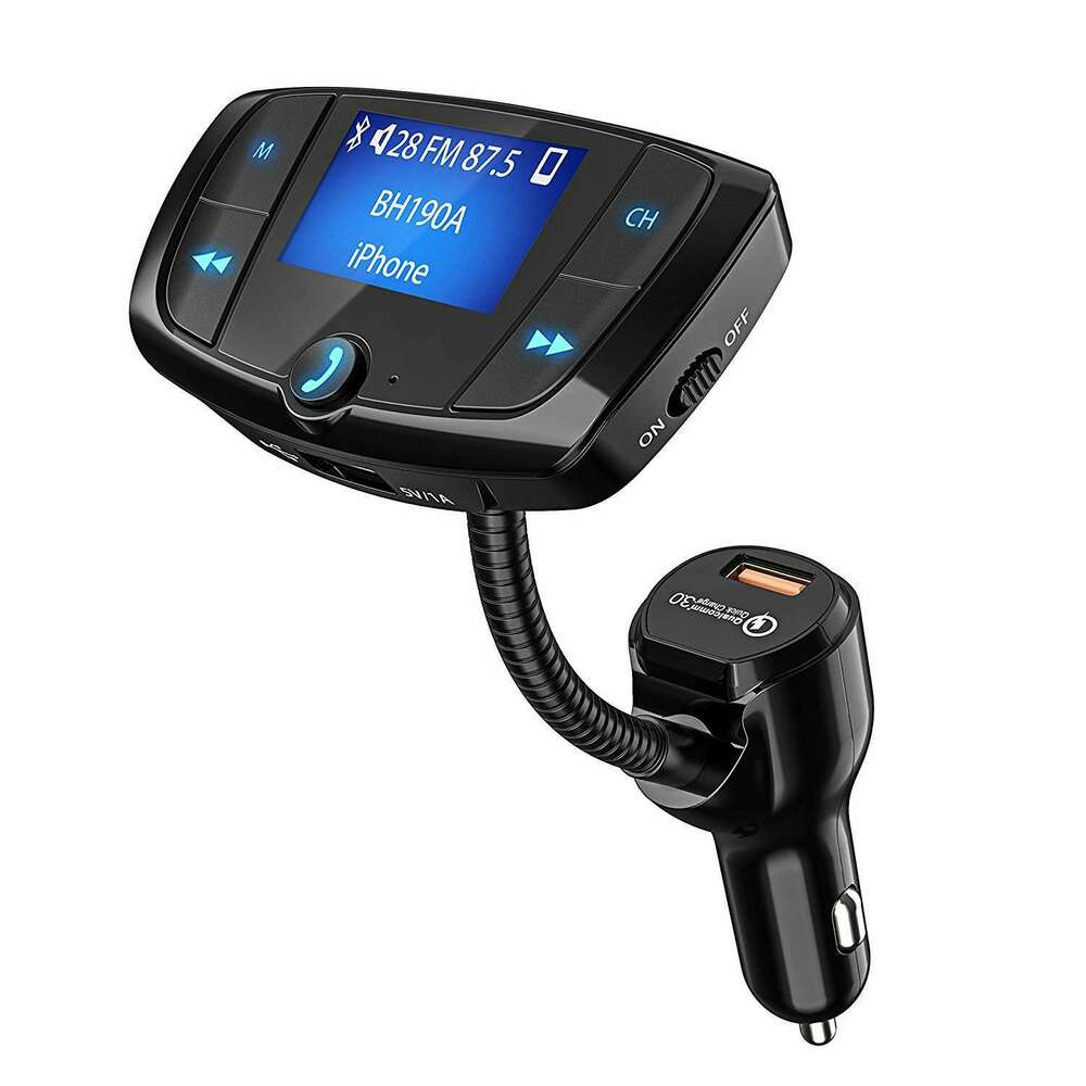 fm transmitter to car radio kit usb charger mp3 for iphone. Black Bedroom Furniture Sets. Home Design Ideas