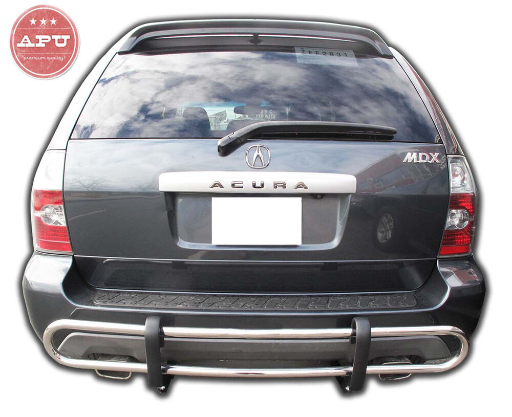 apu 2001 2006 acura mdx stainless rear bumper guard. Black Bedroom Furniture Sets. Home Design Ideas