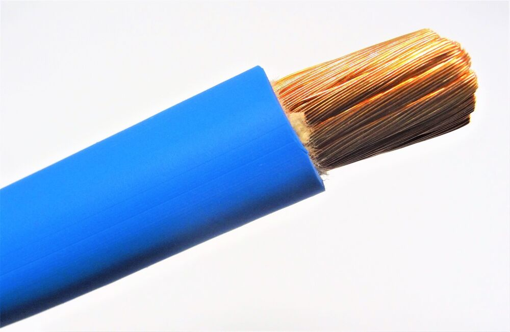 Battery Cable Fabrication : Welding battery cable blue v usa epdm jacket heavy