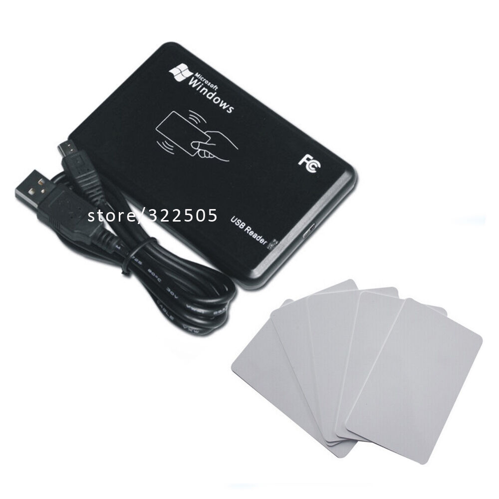 Hf mhz rfid mifare ic card reader writer usb port