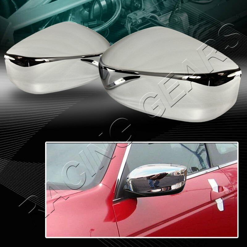 FOR HONDA ACCORD 2 DR 4 DR CHROME ABS PLASTIC SIDE VIEW