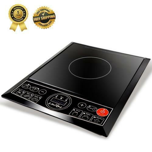 Portable Induction Cooker ~ W electric induction cooktop portable single cooker