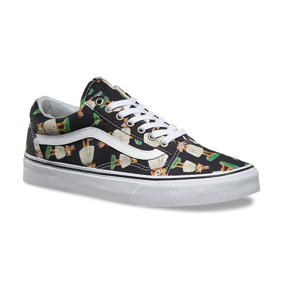 c87857ef4a Details about Vans DIGI HULA - OLD SKOOL Mens Shoes  NEW Black ALOHA DOLL HAWAII  Free Shipping