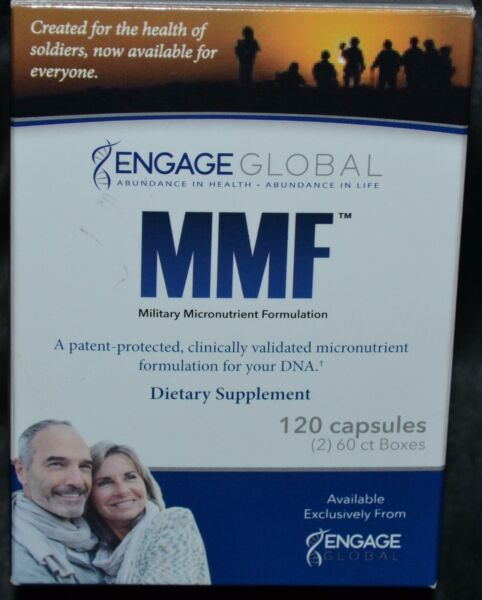 Military Micronutrient Formulation Engage Global Dietary Supplement 120 Capsules