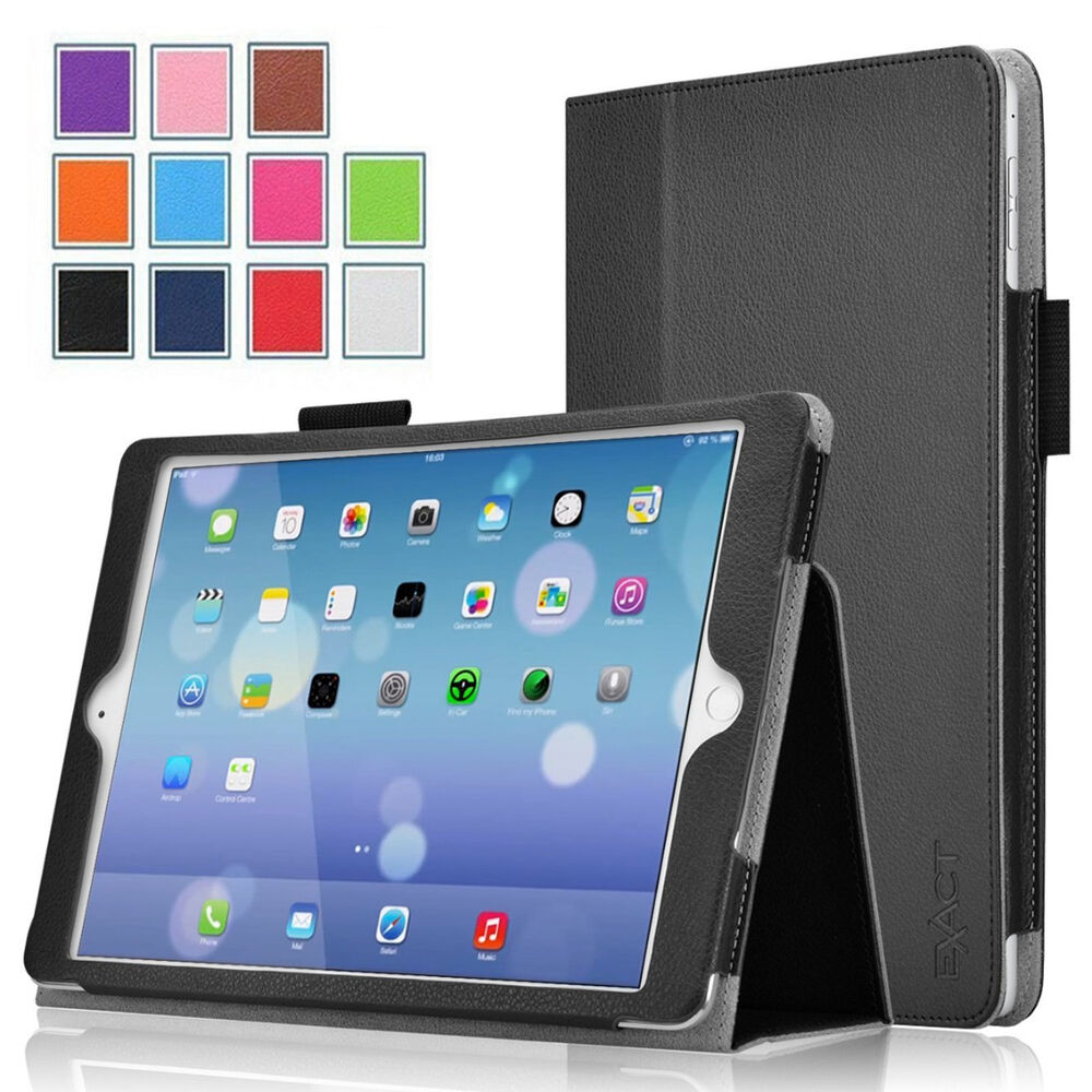 exact pro series leather stand folio cover case for apple ipad pro 12 9 ebay. Black Bedroom Furniture Sets. Home Design Ideas