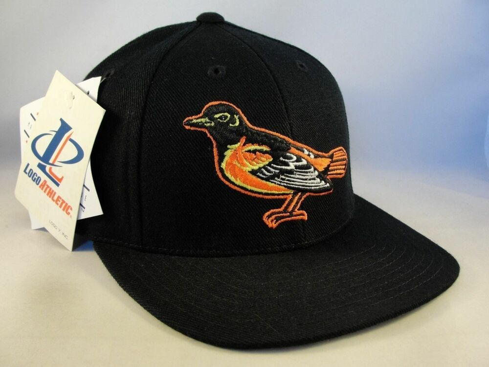 6c046fd17ad Details about MLB Baltimore Orioles Vintage Snapback Hat Cap Logo Athletic