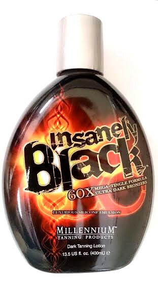 Insanely Black Hot Tingle Tanning Bed Lotion W Dark Bronzer By Millennium Tan  Ebay-5477