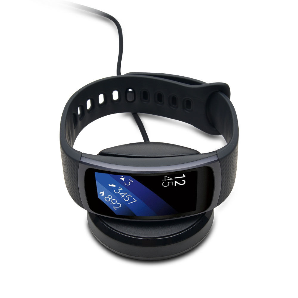 Charging Cradle Dock Charger Adapter For Samsung Gear Fit2