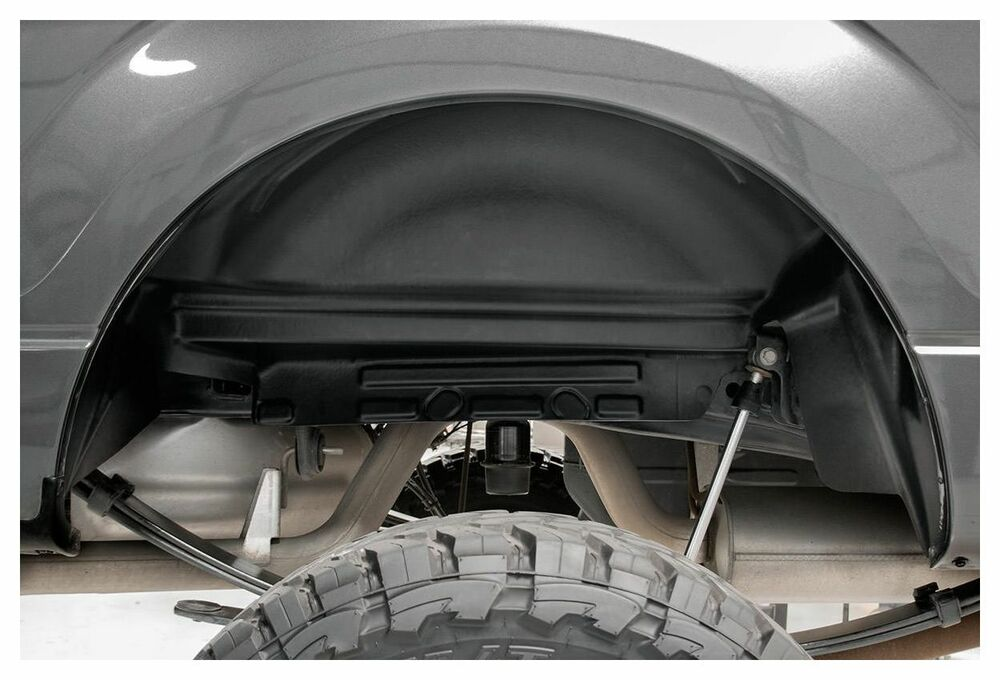 Rough Country Rear Wheel Well Liners 04 14 Ford F 150