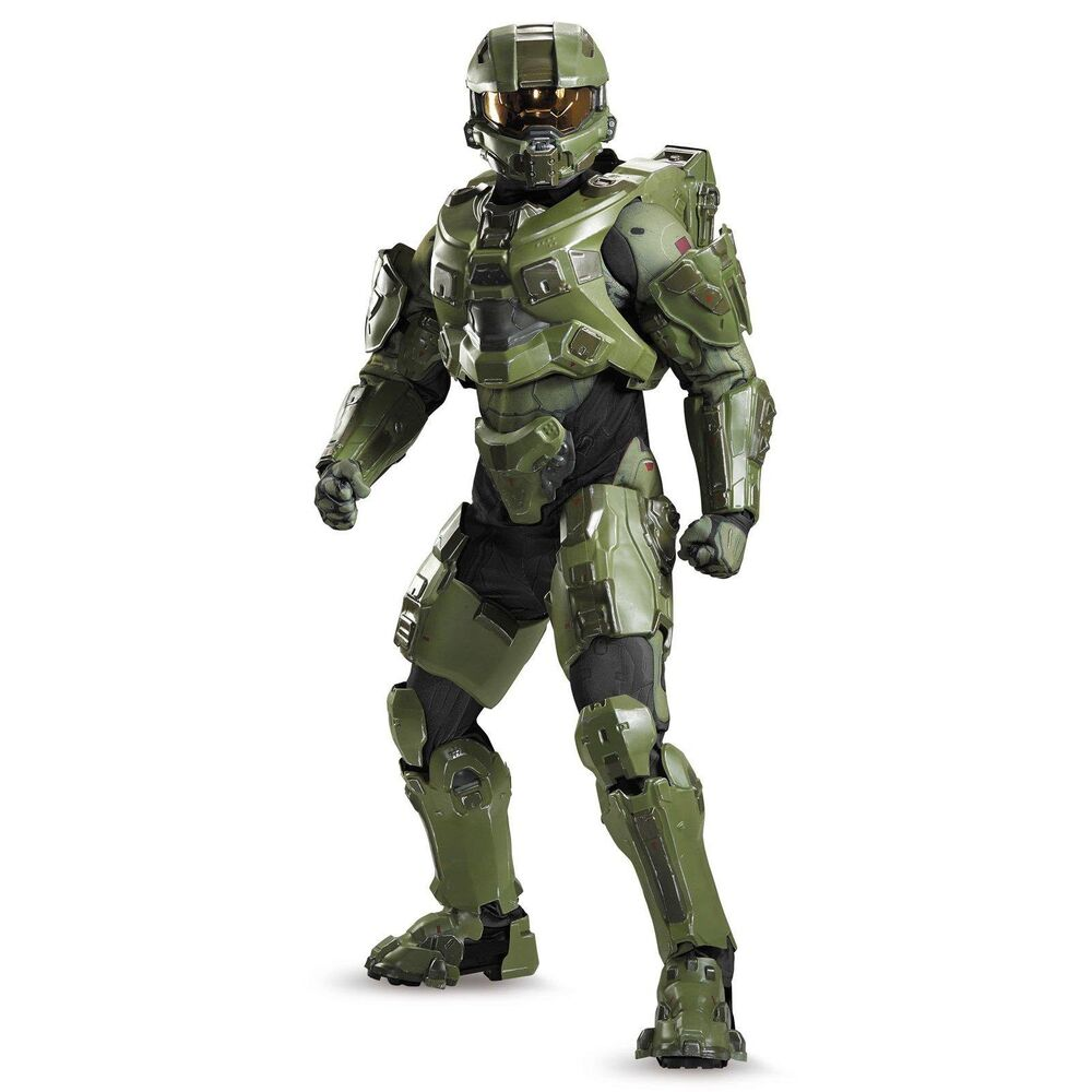 halo master chief ultra prestige adult costume w full helmet disguise 97564 ebay