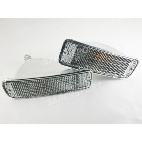 set-of-pair-clear-front-park-signal-bumper-lights-for-19961998-toyota-4runner