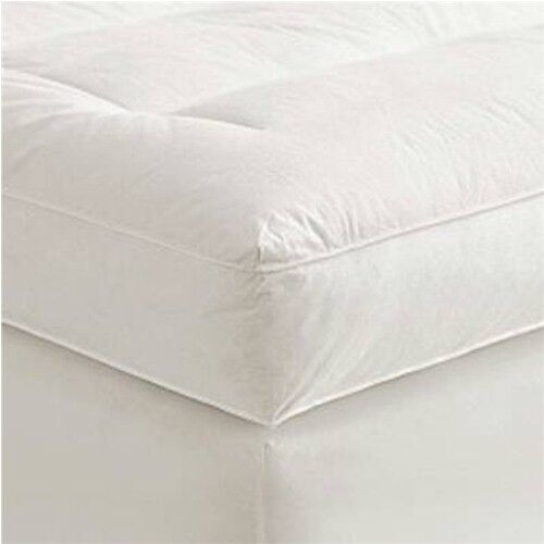 4 Quot Queen Goose Down Mattress Topper Featherbed Feather