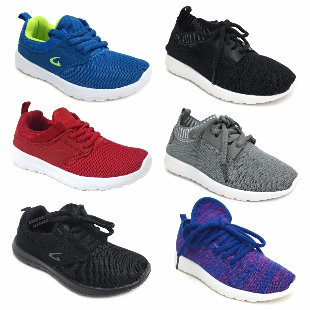 boys athletic light weight tennis shoes running