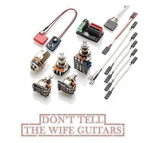 emg solderless conversion wiring kit for 1 2 pickups w. Black Bedroom Furniture Sets. Home Design Ideas