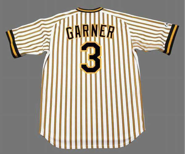 60e7753fc PHIL GARNER Pittsburgh Pirates 1978 Majestic Cooperstown Home Baseball  Jersey