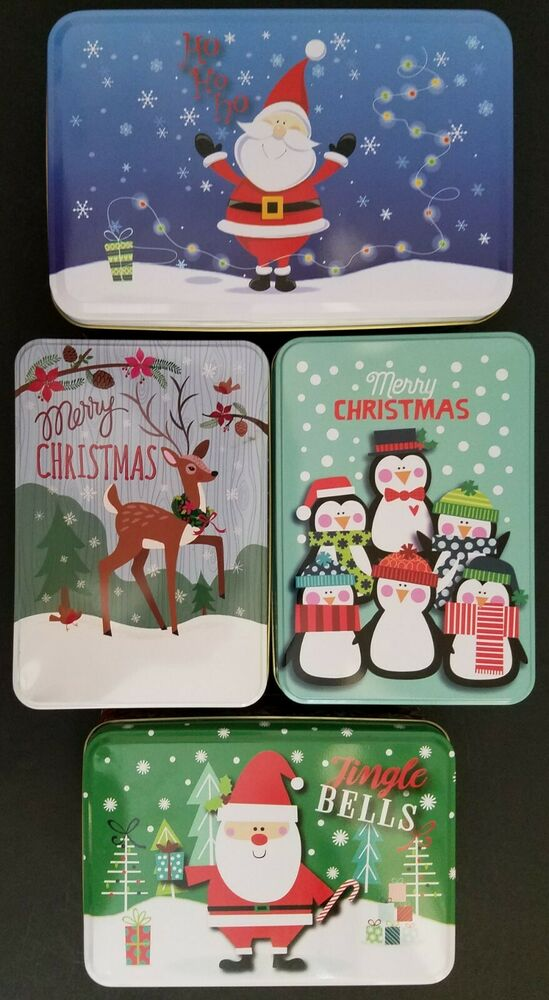 Christmas Gift Boxes Lids Party Supplies