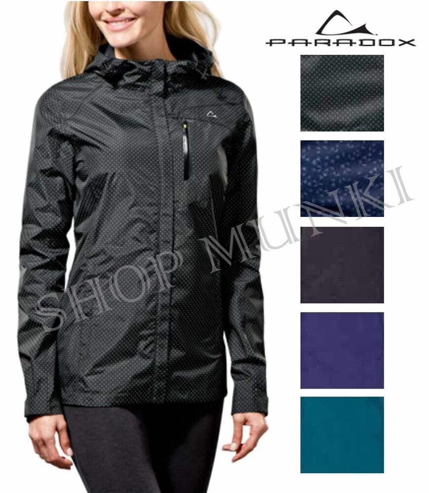 Paradox 2 5 Women S Waterproof Lightweight Rain Jacket