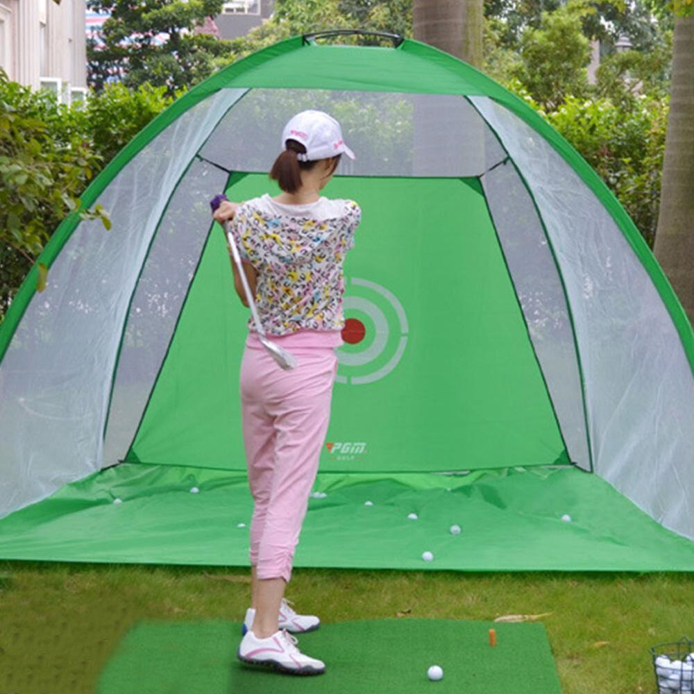 3M Golf Practice Cage Driving Hit Net Training Aid Driver ...