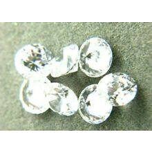 White Round CUBIC ZIRCONIA loose AAA  CZ lots 1 - 15mm  CZ  *Wholesale* USA