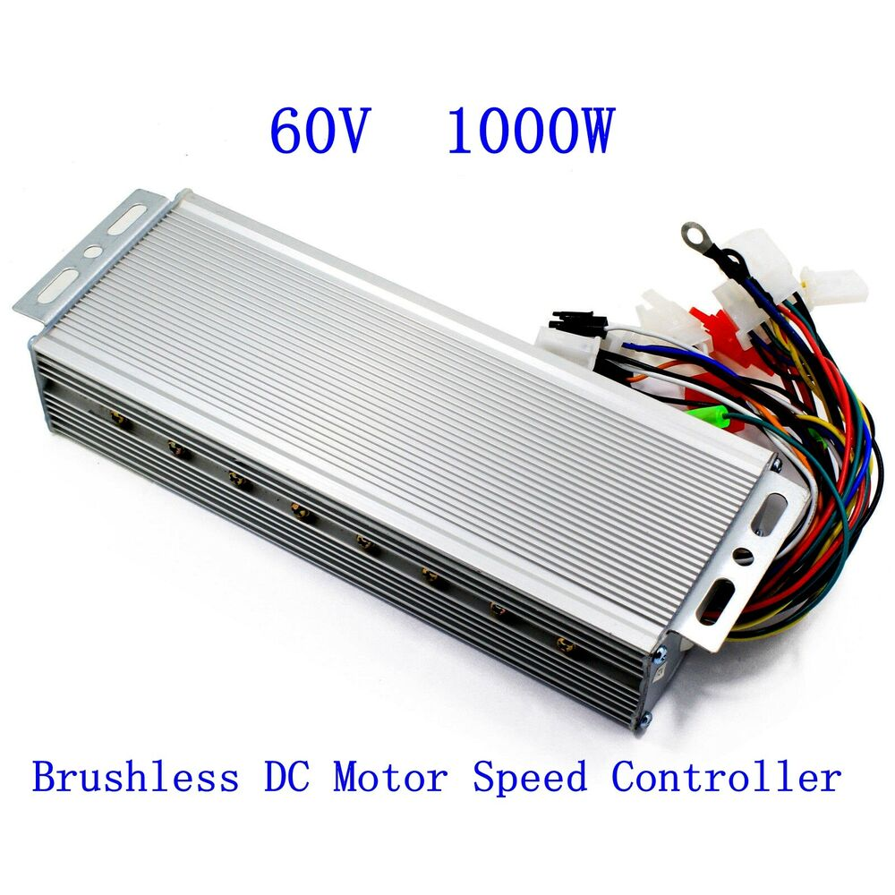60v 1000w electric bicycle e bike scooter brushless dc for Industrial dc motor controller